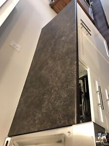 Laminate Counter top, sink and faucet