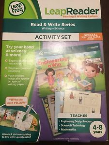 Leap reader.  Read and write series.