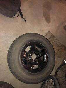 Ford F-150 winter wheels 255/70r17