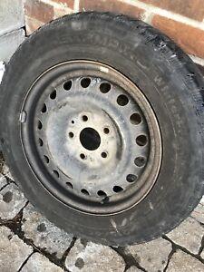 215 65 16 d Hiver pour Dodge Caravane