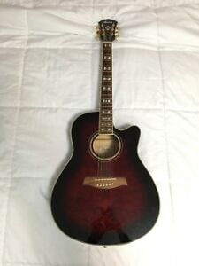 Ibanez AEF37E Acoustic Guitar with Pickup