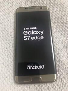 Samsung galaxy S7 edge 128 GB