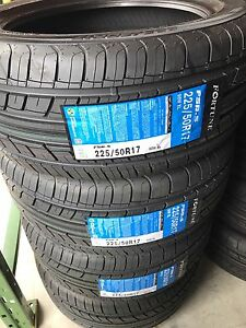 225/50R17 or 235/45R17 JUST  $400 TAX IN