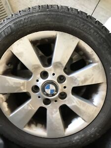 4 BMW set of tires and rims