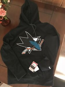 San Jose NHL Reebok LOT - hoodie, warm up pants & two T-shirt's