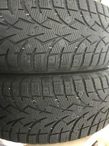 Winter tires and rims 225/65/17 including nuts
