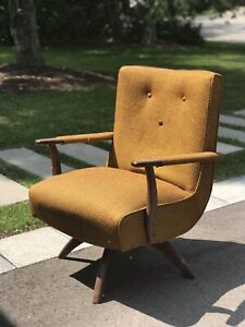 Outstanding Mid Century Swivel Chair Buy And Sell Furniture In Toronto Home Interior And Landscaping Mentranervesignezvosmurscom
