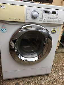 LG 7/4kg washer dryer direct drive all in one combo washing machine Epping Ryde Area Preview