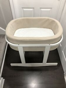Monte Design Bassinet including  the waterproofing mattress