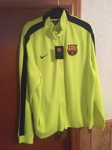 Barcelona fc zip up track top/jacket