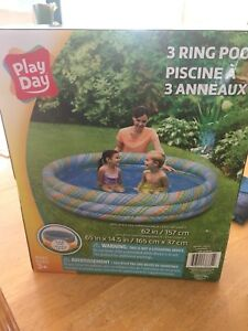 Brand new inflatable kids swimming pools