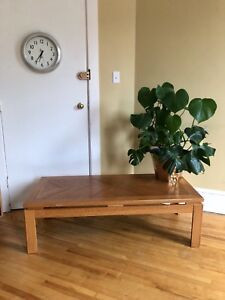 Solid Wood Table & Side Tables