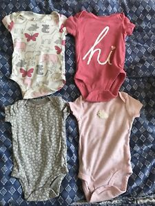 3 mouths baby girl clothes
