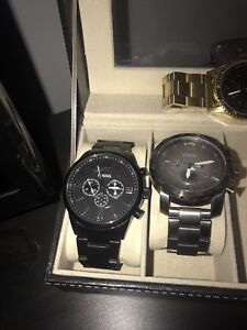 Black Fossil Watch Brand New