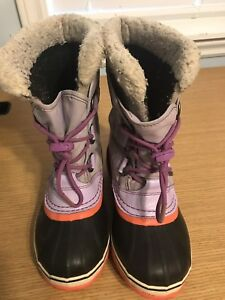 Sorel snow winter boots for size 2 for girls
