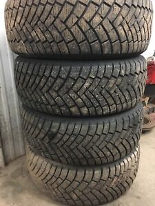 225/55R17 Winter Studded Tires