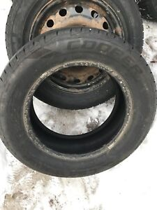 One 225/60R16 tire