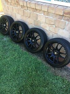 18x8.5 wheels and tyres multi stud Burleigh Waters Gold Coast South Preview