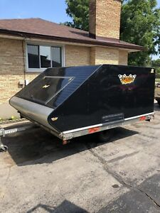 Northtrail Double Snowmobile trailer