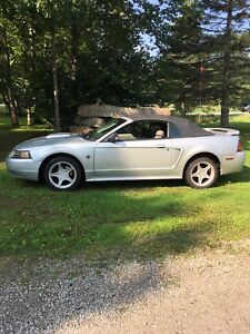 MUSTANG CONVERTIBLE 40th NICE SHAPE $2999 or TRADE