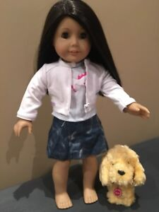 American Girl Doll outfit + dog