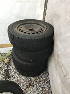 "Tires/Rims 16"" used 1 season"