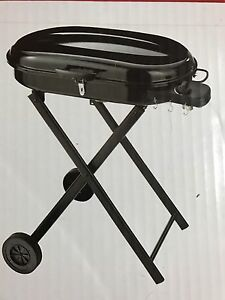 Master Chef-Portable Gas Cart BBQ Black-Still in BOX!