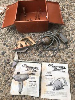 Vintage LIGHT BURN power tool