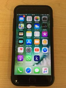 iPhone 7 Plus (256 GB) - Matte Black (Excellent Condition)