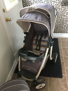 Stroller and infant seat