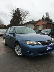 2008 Impreza new tires, no rust, no accidents, Certified
