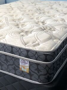 Brand new in plastic queen pocket coil mattress