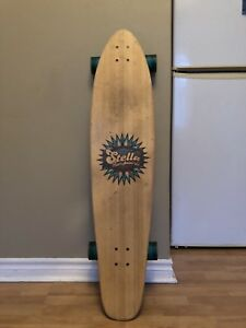Selling longboard and helmet