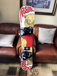 Rossignol Snowboard with Firefly Bindings