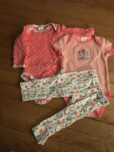 6-9 month girl outfit
