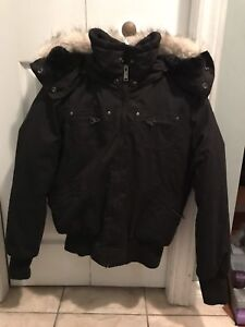 Girls winter bomber jacket