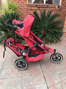 Phil n Ted sports double pram Doveton Casey Area Preview