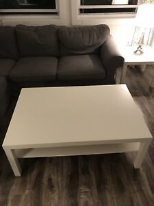 IKEA Lack Coffee & End Table Set & Other Items