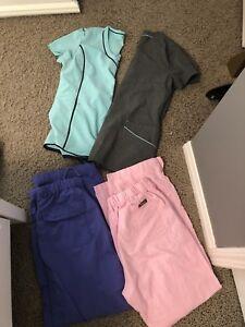 Medium size scrubs