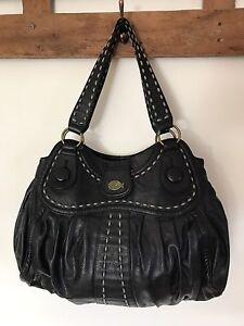 Large 'NICA' black shoulder bag Dubbo Dubbo Area Preview