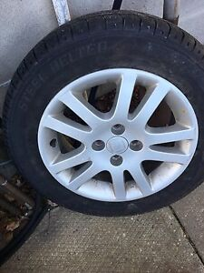 Honda Civic 15 inch wheels and tires
