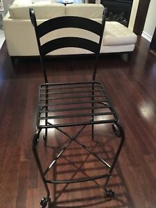 Iron chair for sale