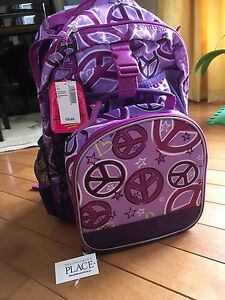 BNWT Backpack and lunchbox set