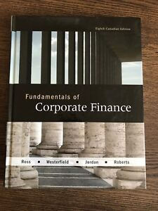 Fundamentals of Corporate Finance by Ross