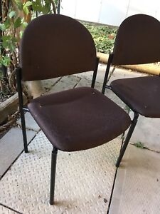 Black chairs, set of 5