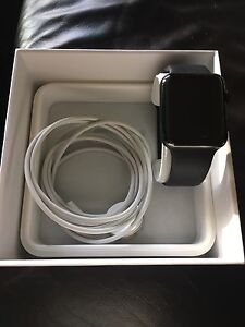 Great Grad Gift!  Apple Watch 42mm Stainless Steel. Series 1