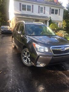 2014 Subaru Forester limited XT turbo -low kms!