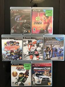 PS3 Game Bundle, Eye, and Controller