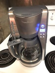 Moulinex Digital Control, stainless Steel 12-Cup Coffee Maker