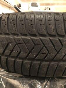 Pneus Hiver Pirelli 225 50 18 Runflat Winter Tires